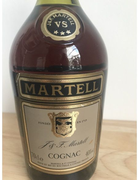 J & F Martell Three Star VS 1980s Cognac 010