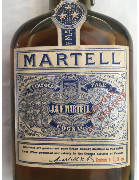 J&F Martell Very Old Pale Cognac 010