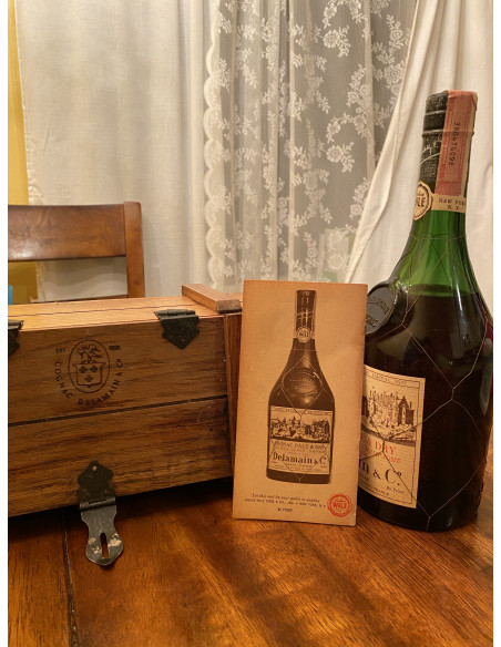 Delamain Pale & Dry Grande Champagne Cognac 014