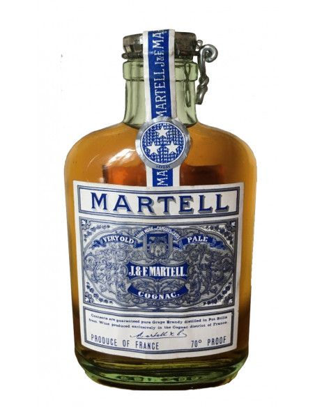 J&F Martell Very Old Pale Ale Flask 06