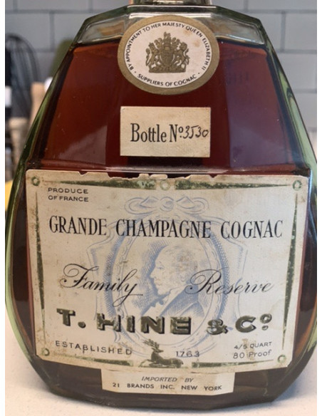 Hine Grande Champagne Cognac Family Reserve 011