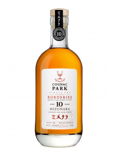 Park Borderies Mizunara Aged 10 Years Cognac 04