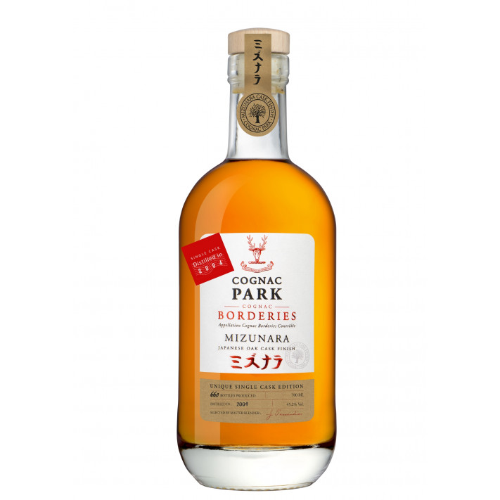 Park Mizunara Single Cask 2004 Borderies Cognac 01