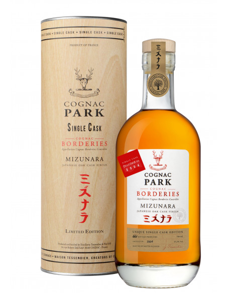 Park Mizunara Single Cask 2004 Borderies Cognac 04