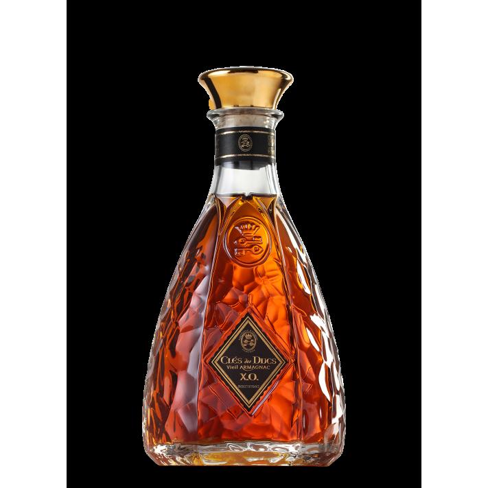 Armagnac Clés des Ducs XO Carafe Martelée 01
