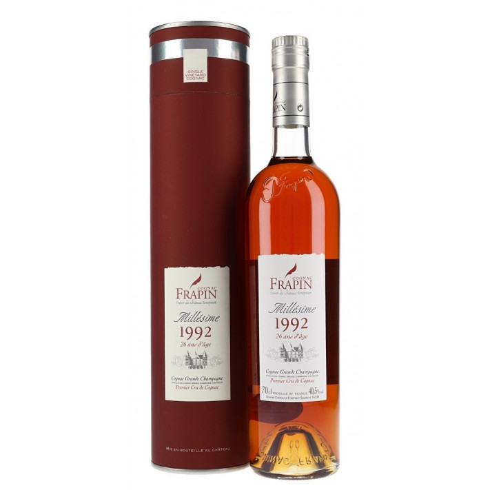 Frapin Château de Fonpinot 1992 26 Years Old Cognac 01