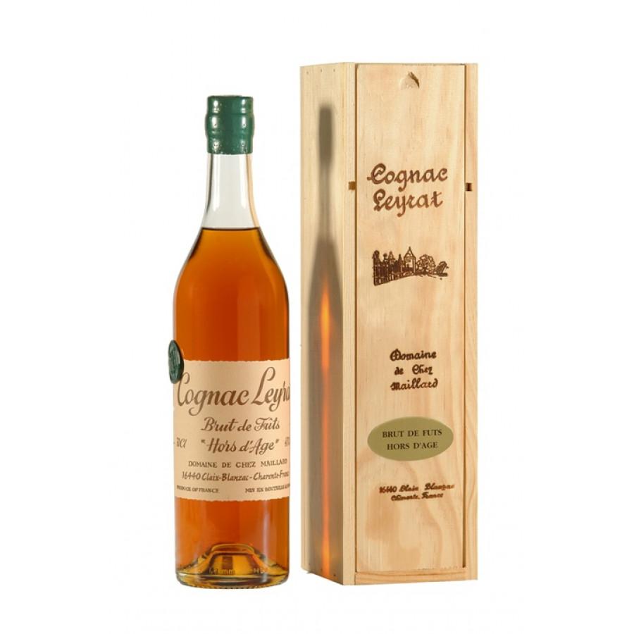 Leyrat Brut de Fût Hors d'Age Cognac 01