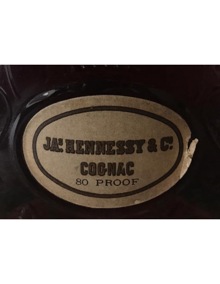 JA.s Hennessy & Co. Extra Cognac 80 proof 011