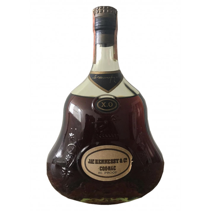 JA.s Hennessy & Co. Extra Cognac 80 proof 01