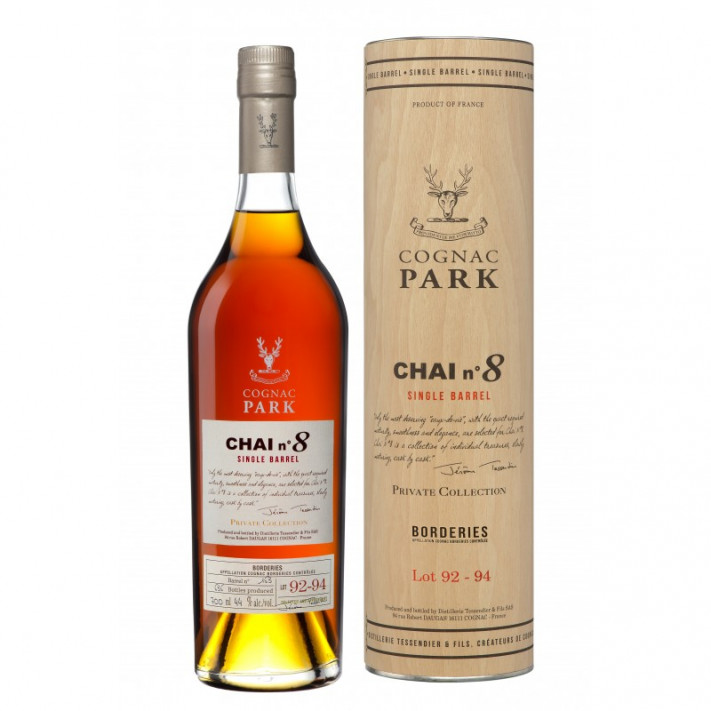Park Cellar N°8 Borderies Lot 1992-1994 Vintage Cognac 01