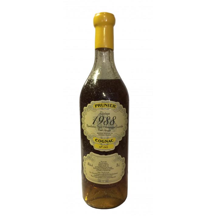 Prunier Rare Vintage 1988 Petite Champagne Cognac 01