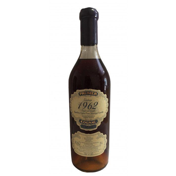 Prunier Rare Vintage 1962 Petite Champagne Cognac 01