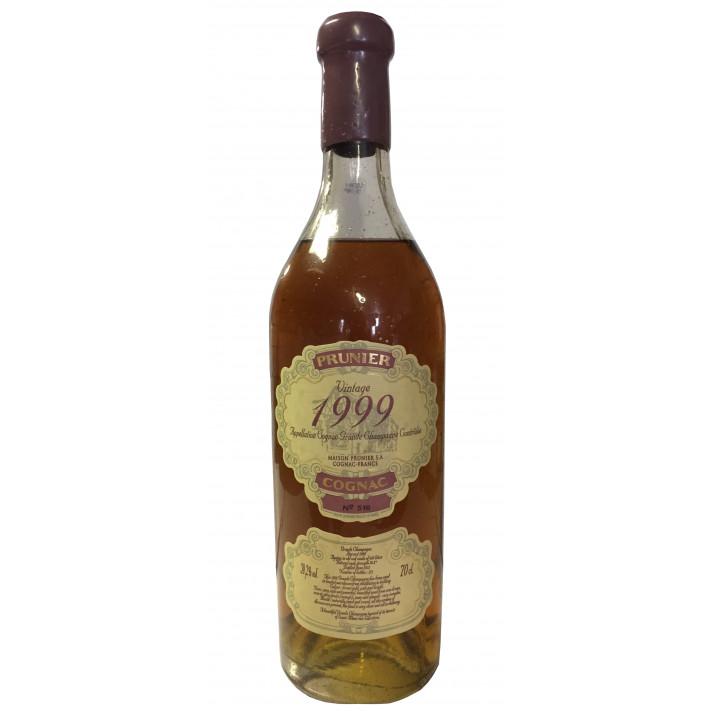Prunier Rare Vintage 1999 Grande Champagne Cognac 01