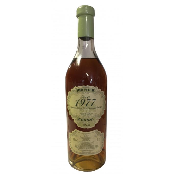 Prunier Rare Vintage 1977 Petite Champagne Cognac 01