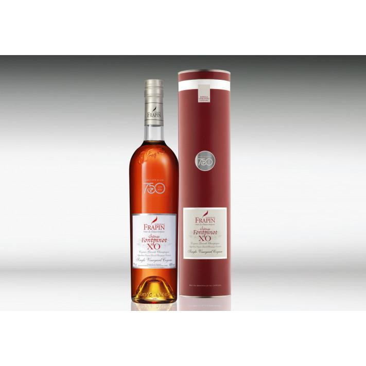 """Frapin Château Fontpinot XO """"édition limitée 750"""" Cognac 01"""