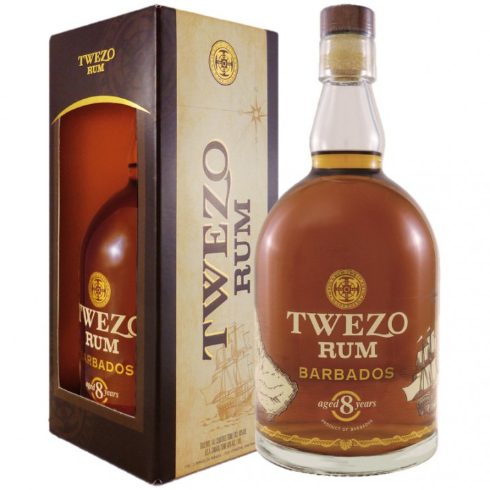 Twezo Barbados 8 Years Rum 01