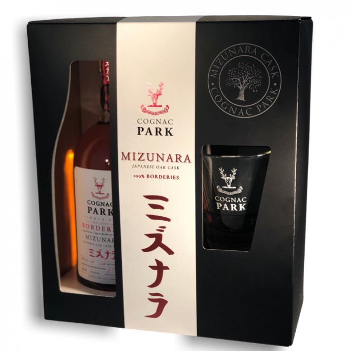 Park Borderies Mizunara Aged 4 Years Box Set Cognac 01