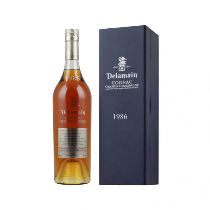 Delamain Vintage 1986 Grande Champagne Cognac 01
