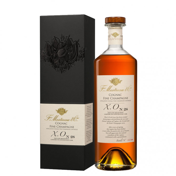 Frédéric Mestreau XO N°28 Fine Champagne Cognac 01
