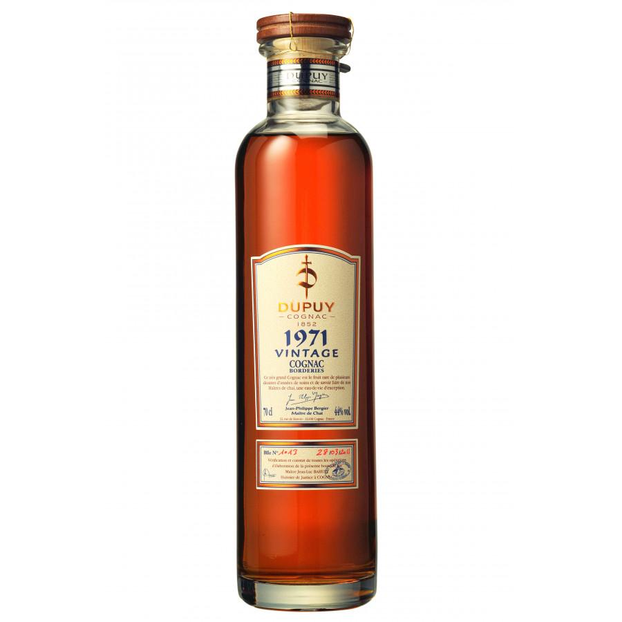 Dupuy Vintage 1971 Tentation Cognac 01
