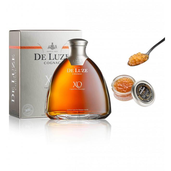 De Luze XO Fine Champagne + Pearls of Cognac 01