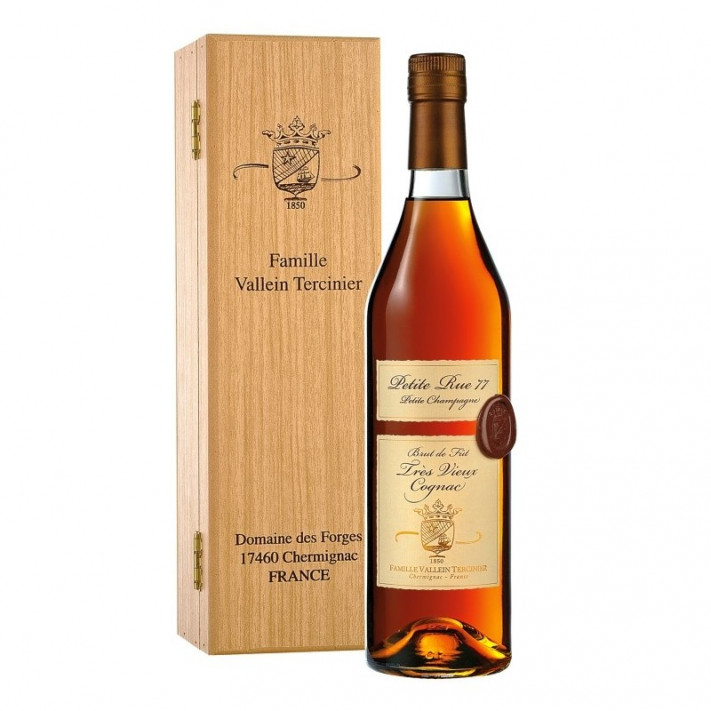 Vallein Tercinier 1977 Petite Champagne Cognac 01