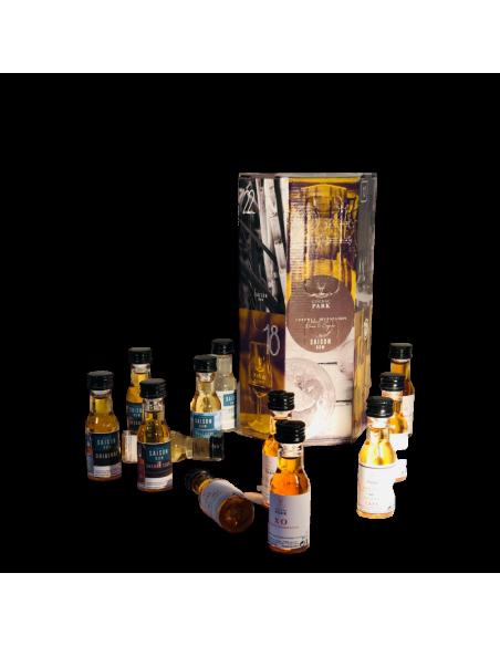 "Park Tasting Box ""Advent Calendar"" 12 Miniatures Rum and Cognac 03"