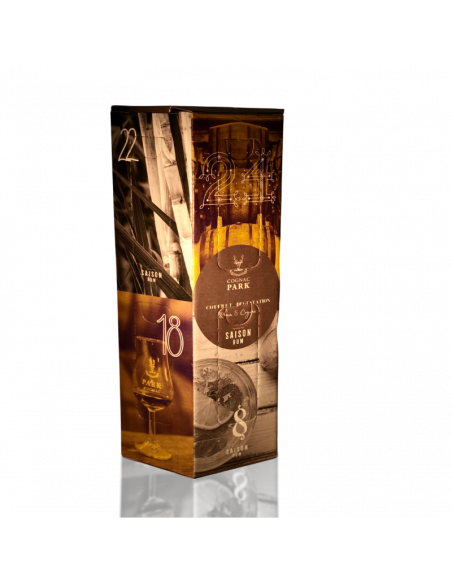 "Park Tasting Box ""Advent Calendar"" 12 Miniatures Rum and Cognac 04"