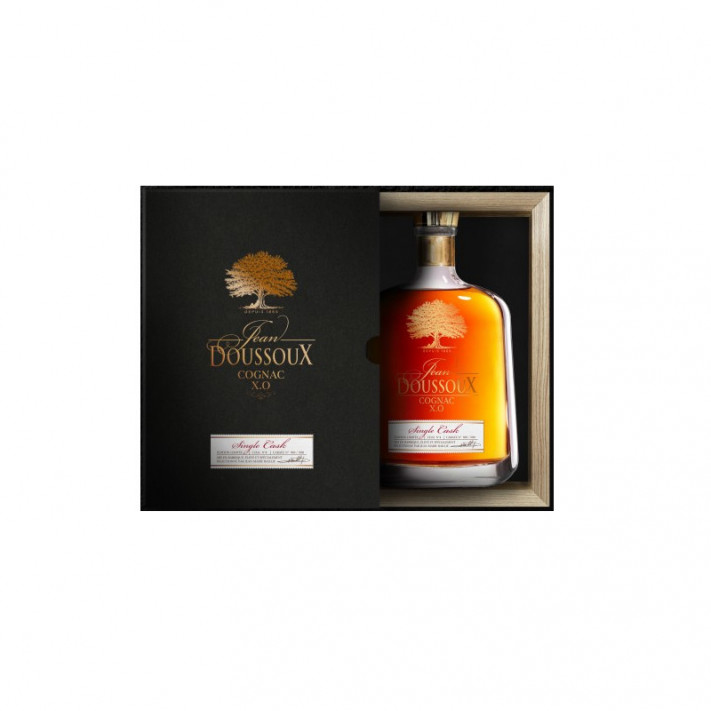 Domaine du Chêne Jean Doussoux XO Single Cask N° 89 Decanter Cognac 01