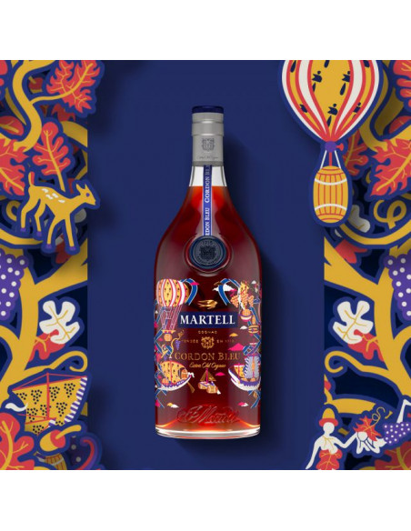 Martell Cordon Bleu The Epic Voyage Limited Edition by Pierre Marie Cognac 06