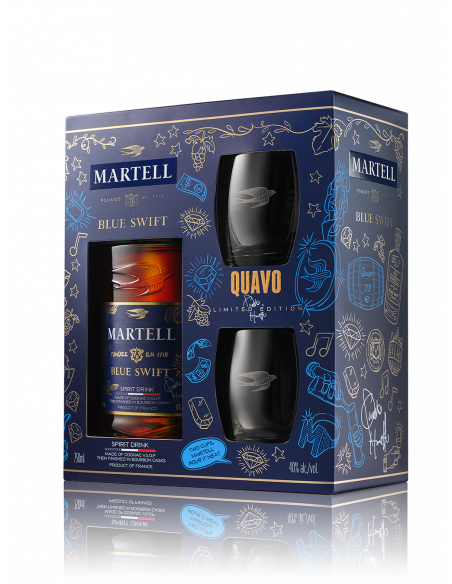 Martell Blue Swift Limited Edition by Quavo Cognac 04
