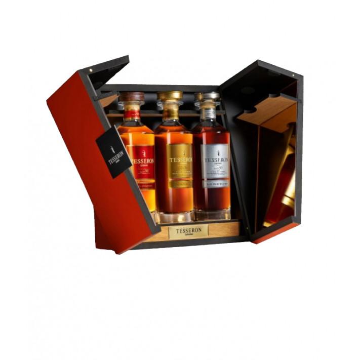 Tesseron Collection Cognac Set Wooden Gift Box 01