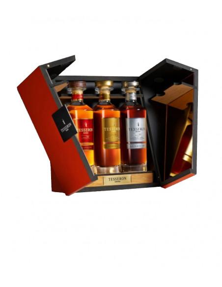 Tesseron Collection Cognac Set Wooden Gift Box 05
