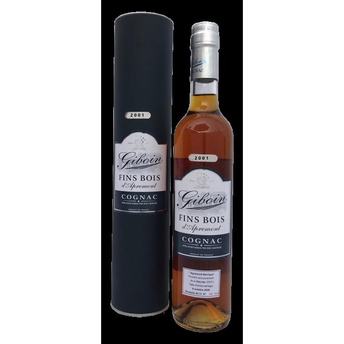 Giboin Fins Bois d'Apremont Vintage 2001 50cl Cognac