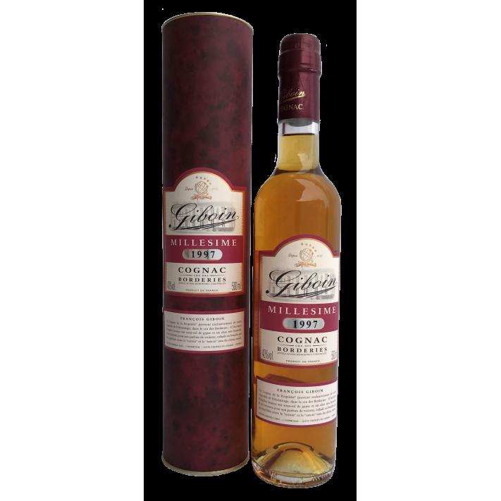Giboin Borderies Vintage '97 50cl Cognac 01