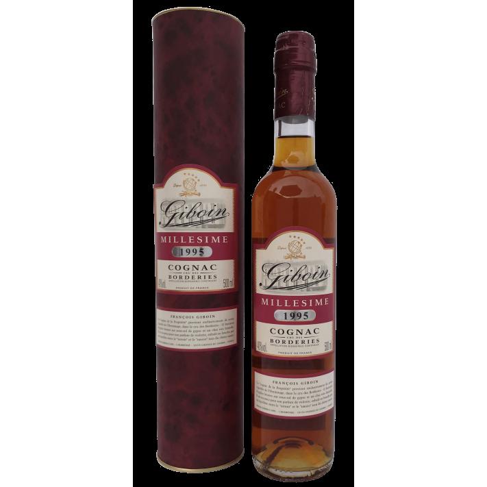 Giboin Borderies Vintage '95 50cl Cognac 01