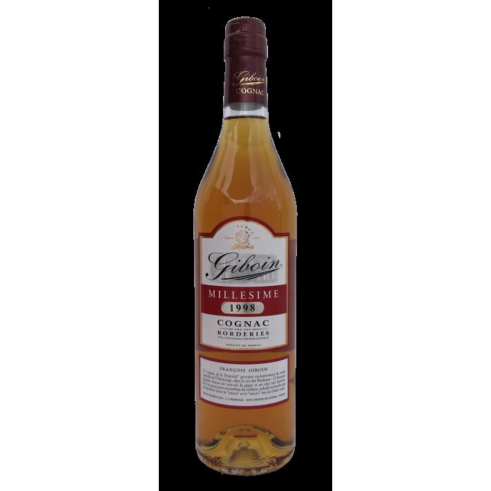 Giboin Borderies Vintage '98 70cl Cognac 01