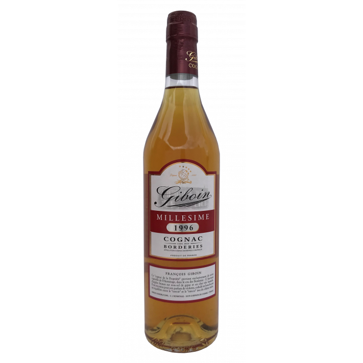 Giboin Borderies Vintage '96 70cl Cognac 01