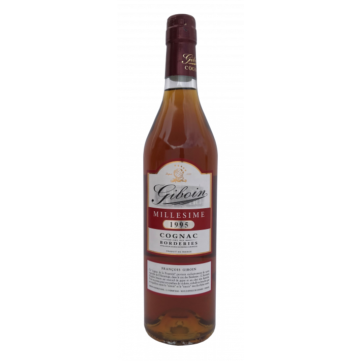 Giboin Borderies Vintage '95 70cl Cognac 01