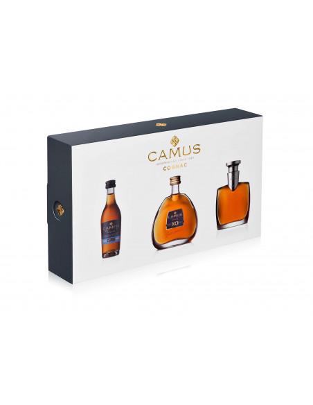 Camus Mini Set Intensely Aromatic (VSOP-XO-EXTRA) Cognac 06