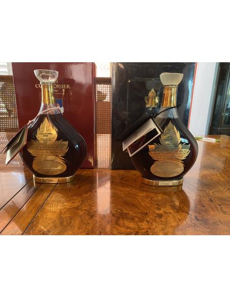 Entire collection of Erte Cognacs bottles 1-8. 08