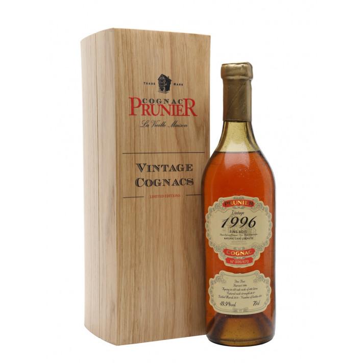 Prunier 1996 Vintage Fins Bois Cognac 01