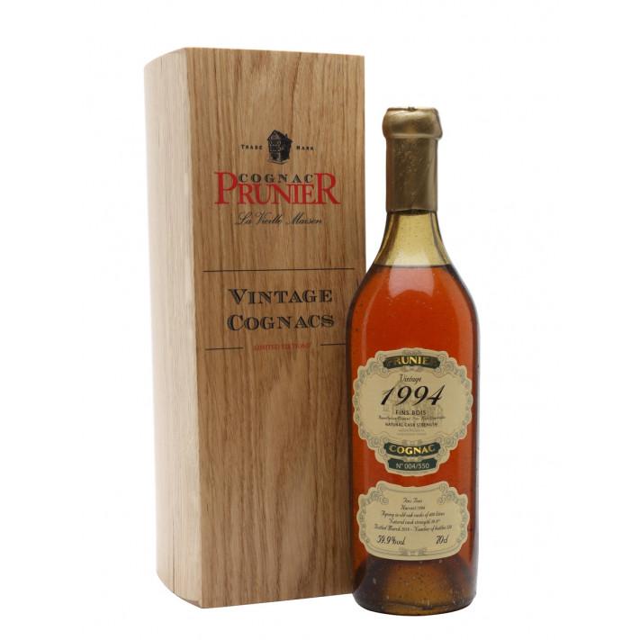 Prunier 1994 Vintage Fins Bois Cognac 01