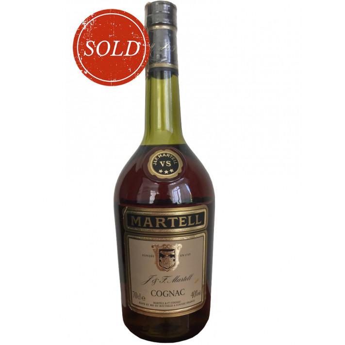 J & F Martell Three Star VS 1980s Cognac 01