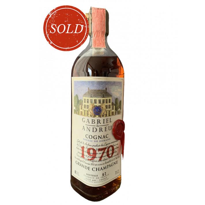 Grande Champagne Cognac De Domaine 1970 01
