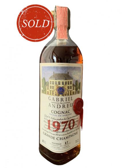 Gabriel & Andreu Cognac De Domaine 1970 014