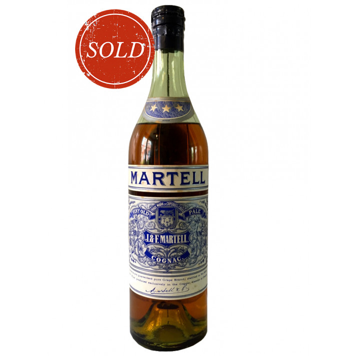 J & F Martell Very Old Pale Cognac 01