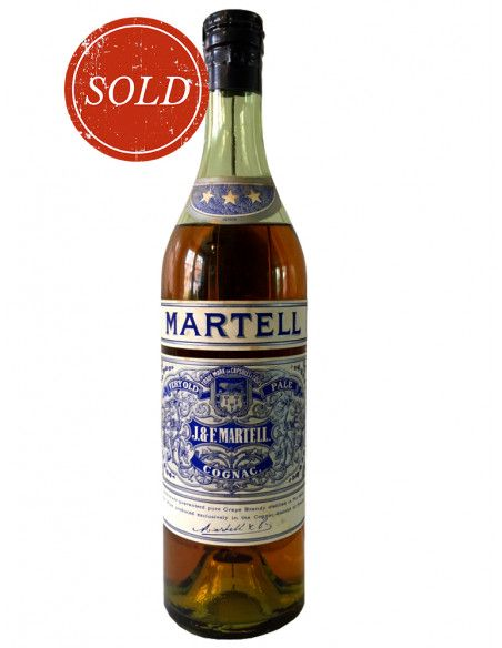 J & F Martell Very Old Pale Cognac 08