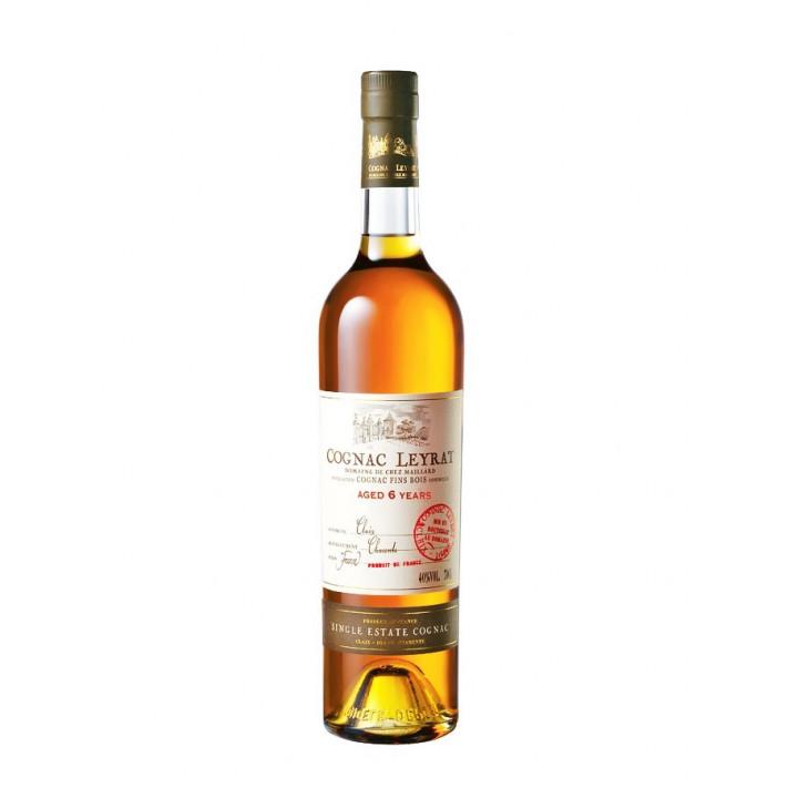 Leyrat Aged 6 Years Cognac 01