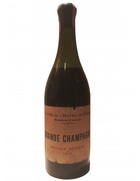 Caves de l'Hotel de Paris Monte Carlo Grande Champagne Speciale Reserve 1810 05